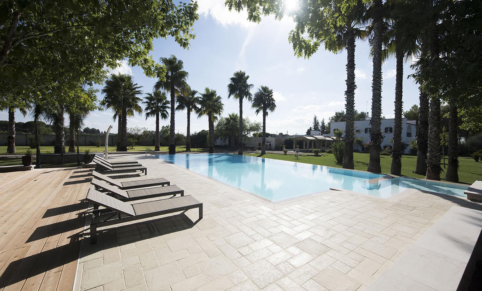 Swimming pool in detached villa